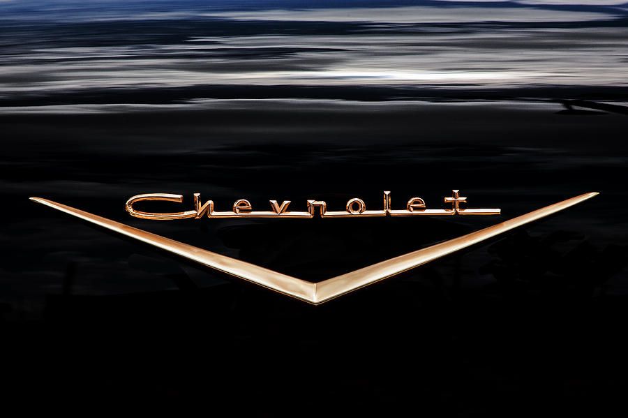 1957 Chevrolet Emblem Photograph By Rich Franco