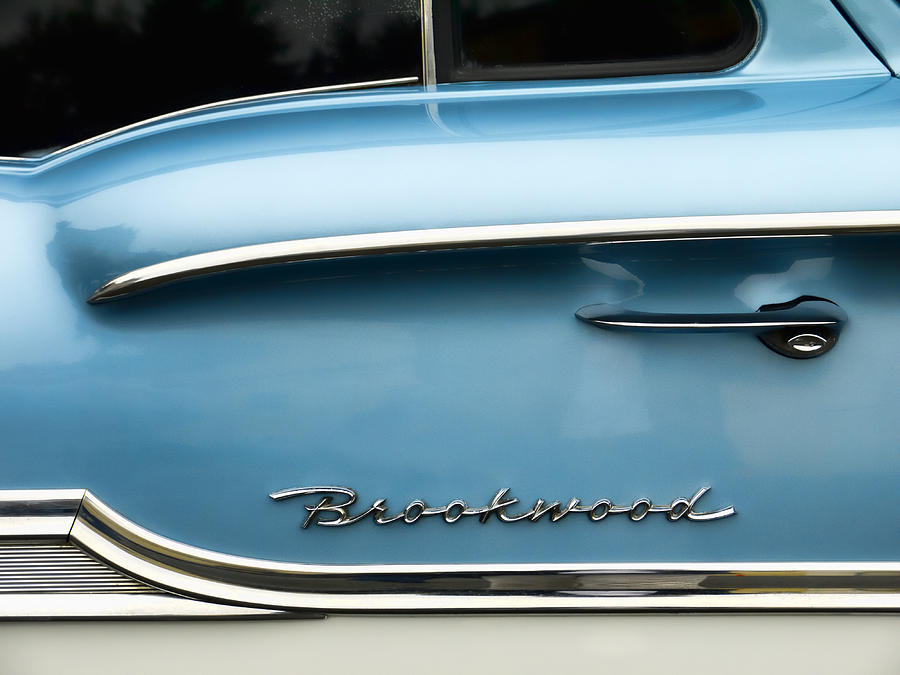 1958 Photograph - 1958 Chevrolet Brookwood Station Wagon by Carol Leigh