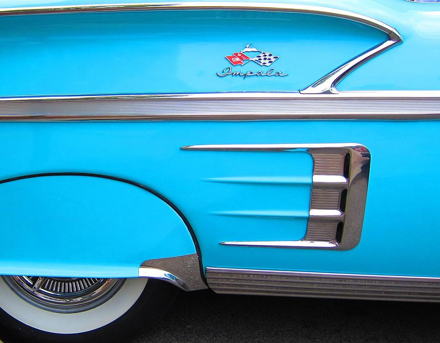 Chevy Photograph - 1958 Chevrolet Impala by Sven Migot