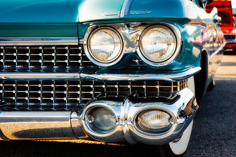 Cadillac Photograph - 1959 Cadillac Sedan Deville Series 62 Grill 1959 by Jon Woodhams