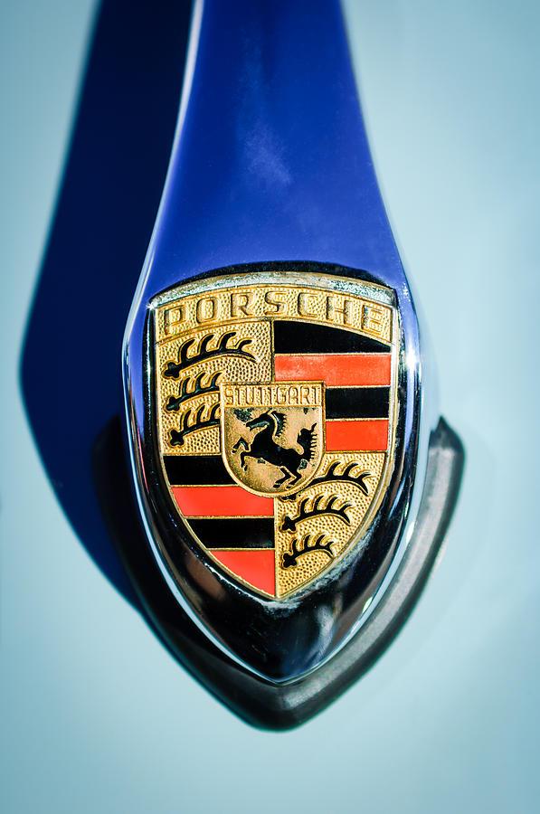 1959 Porsche 356 Emblem 1959