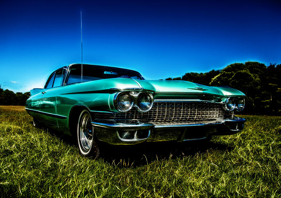 1960 Photograph - 1960 Cadillac Coupe De Ville by motography aka Phil Clark