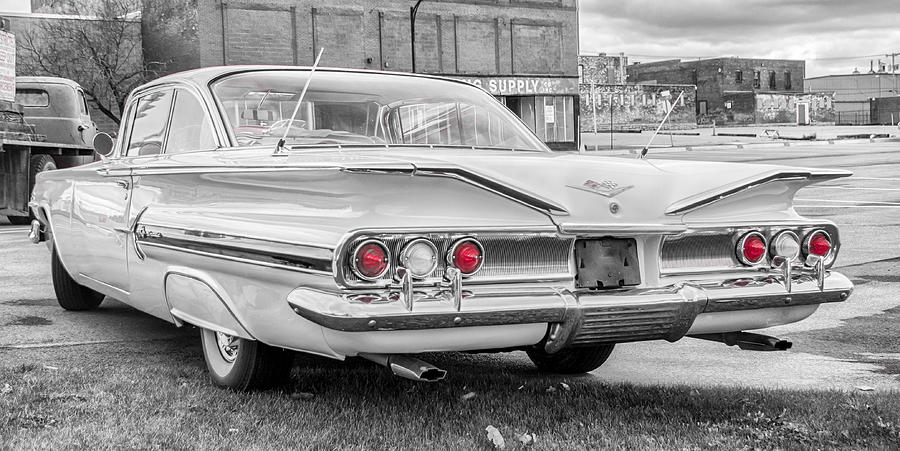 1960 Chevy Photograph - 1960 Chevy Impala   7d08509 by Guy Whiteley