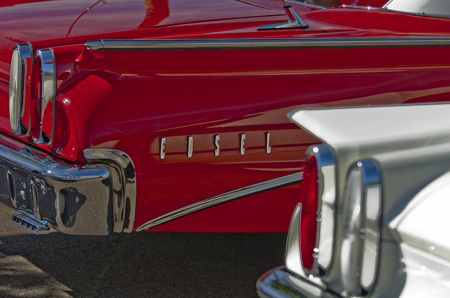 Taillight Photograph - 1960 Edsel Taillight by Jill Reger
