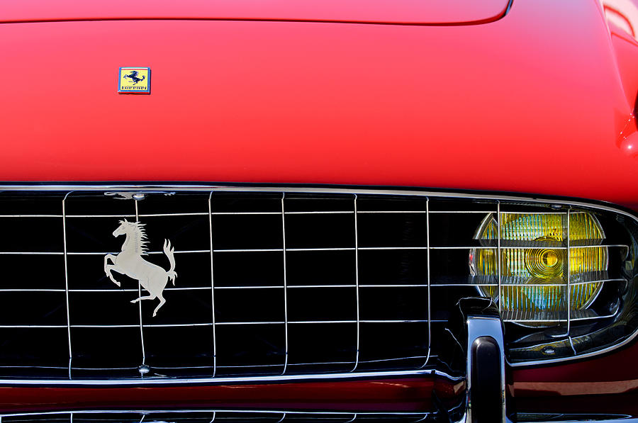 1960 Ferrari 250 Gt Cabriolet Pininfarina Series Ii Grille