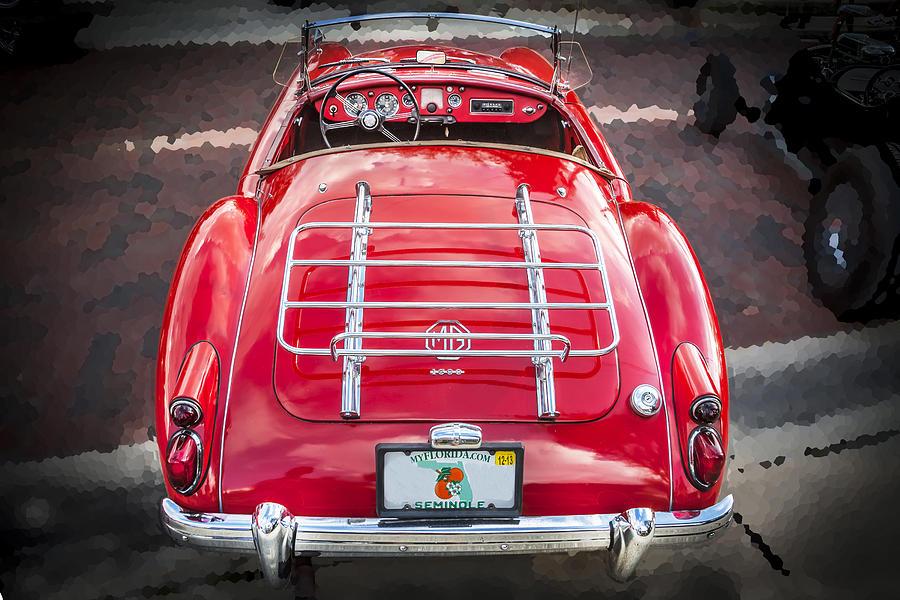 Mga Photograph - 1960 Mga 1600 Convertible by Rich Franco