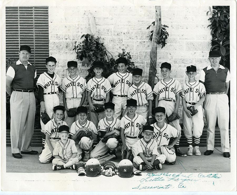 1960s Sacramento Little League Baseball Team