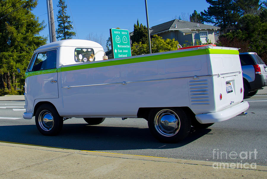 Classic Photograph - 1960s Vw Truck  by Aaron Fromenthal