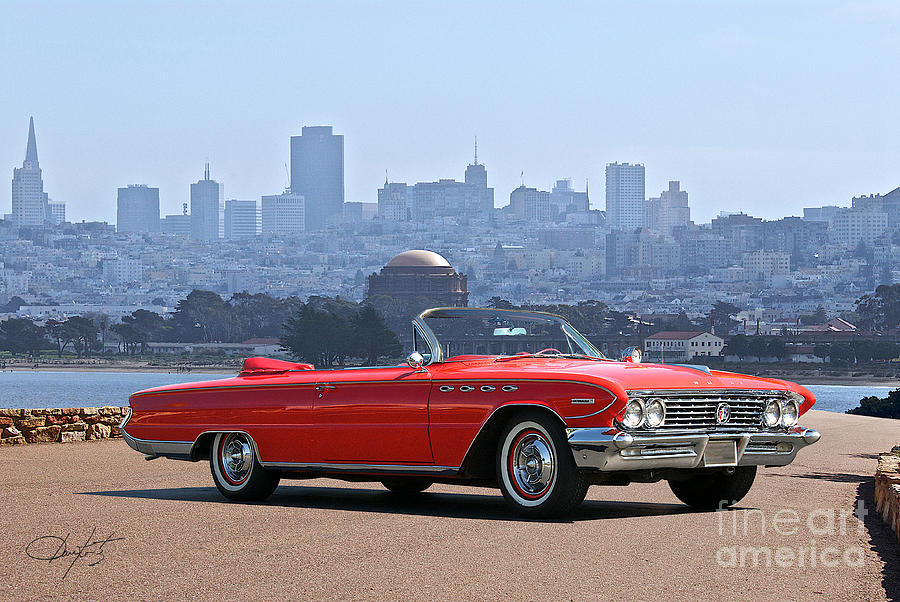 1961 Buick Electra 225 Convertible Photograph By Dave Koontz