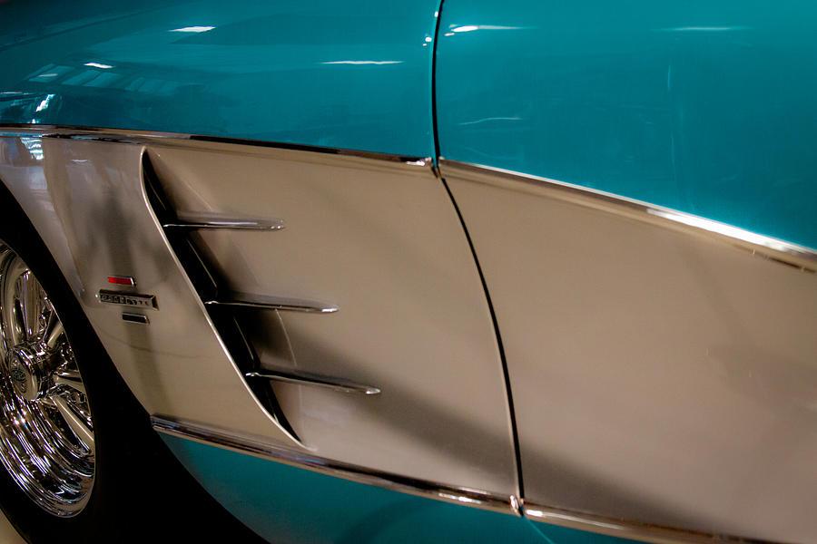 61 Photograph - 1961 Chevrolet Corvette by David Patterson