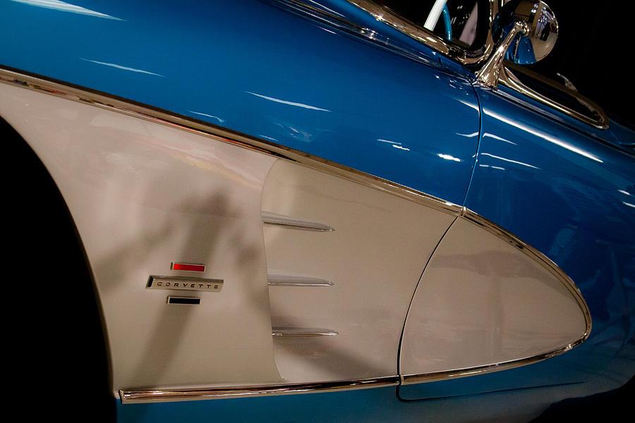 Chevy Photograph - 1961 Chevrolet Corvette V by David Patterson