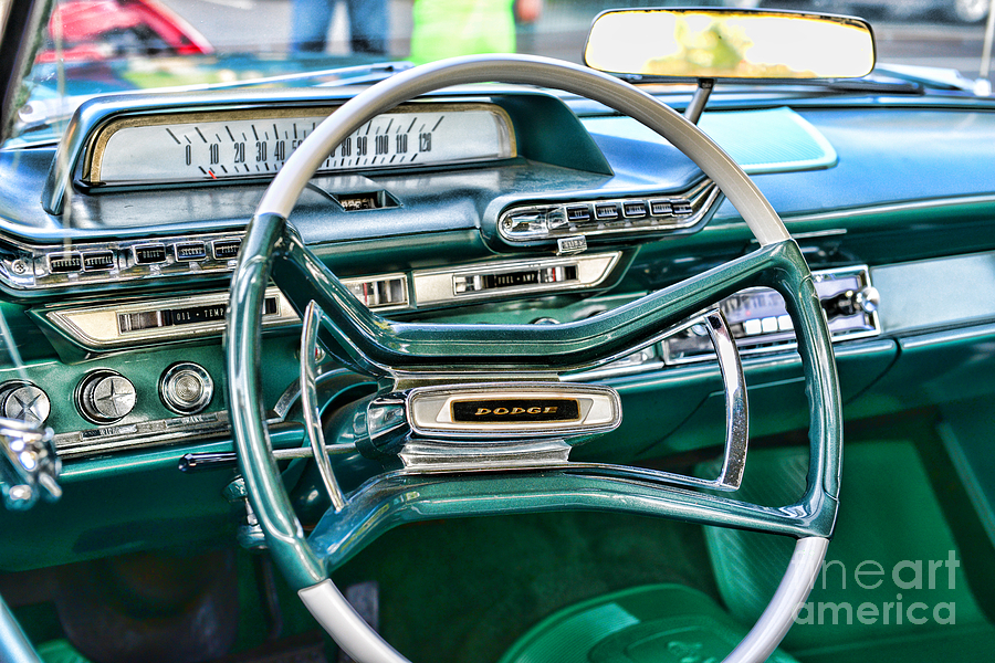 1961 Dodge Pioneer Dashboard Photograph By Paul Ward