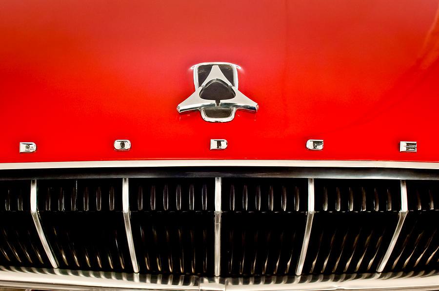Dodge Emblem Photograph - 1962 Dodge Polara 500 Emblem by Jill Reger