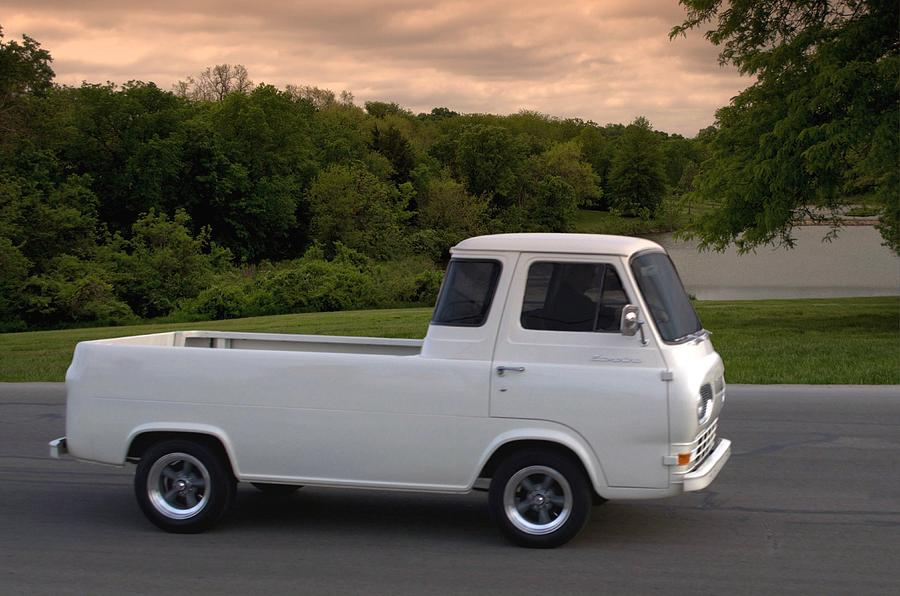 Ford Sweatshirts 1962 Ford Econoline Pickup Truck Photograph by Tim McCullough