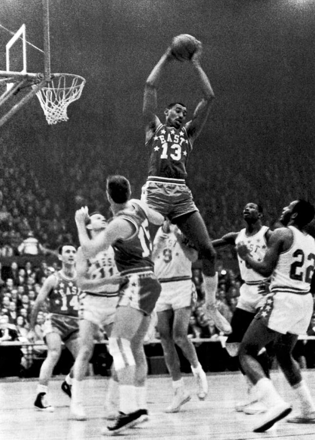 1960s Photograph - 1962 NBA All-Star Game by Underwood Archives