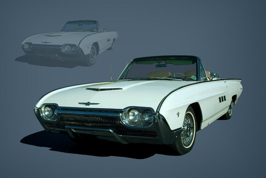 1963 Photograph - 1963 Ford Thunderbird Convertible by Tim McCullough