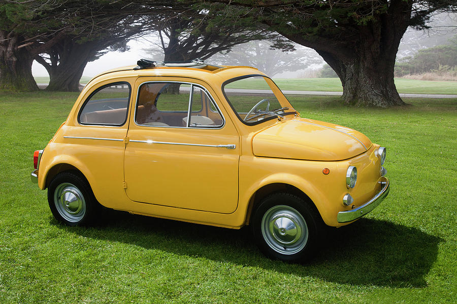 1964 Fiat 500d Photograph by Car Culture