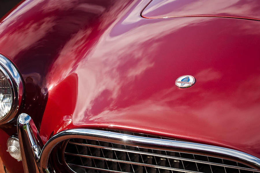 Sports Cars Photograph - 1964 Shelby 289 Cobra Grille -0840c by Jill Reger
