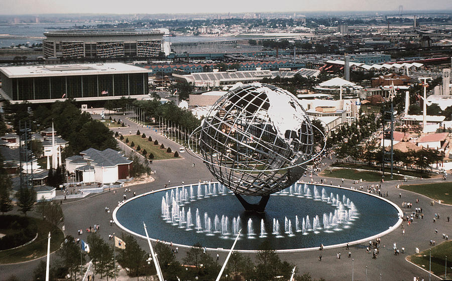 1964 Photograph - 1964 Worlds Fair New York City by Kevin Snider
