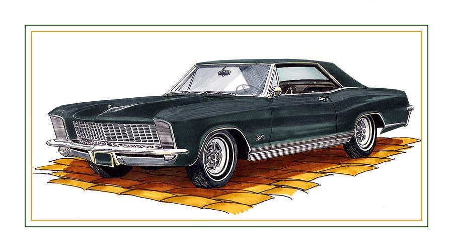 Buick Riviera Custom Painting by Jack Pumphrey