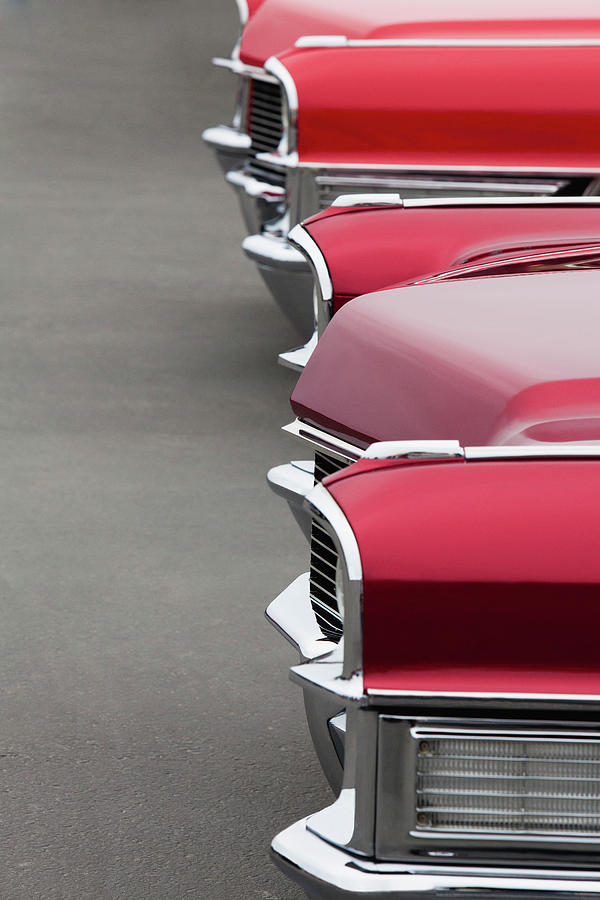 Customized Car Photograph - 1965 Cadillac Deville Convertible Coupe by Car Culture