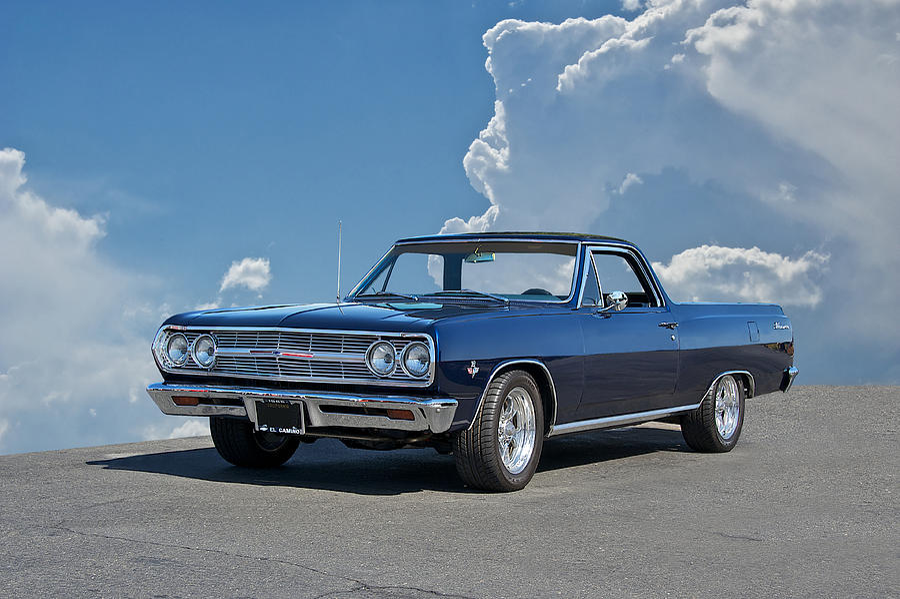 History Photograph - 1965 Chevrolet El Camino by Dave Koontz