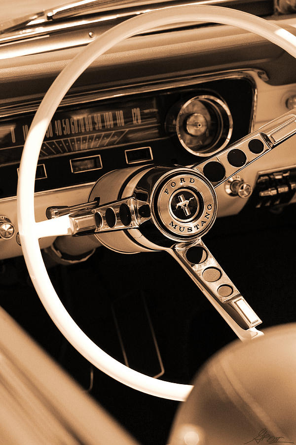 1965 Photograph - 1965 Ford Mustang  by Gordon Dean II