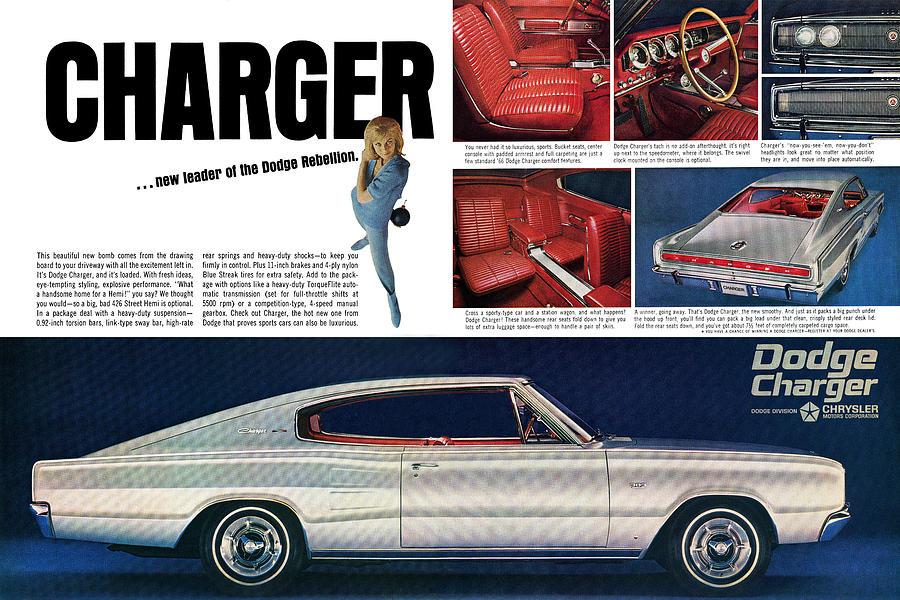 1966 Dodge Charger - New Leader Of The Dodge Rebellion ...