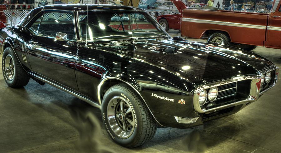 1967 Pontiac Firebird 400 Reverse Selective Color