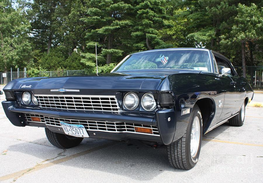 1968 Chevrolet Impala Sedan Photograph By John Telfer