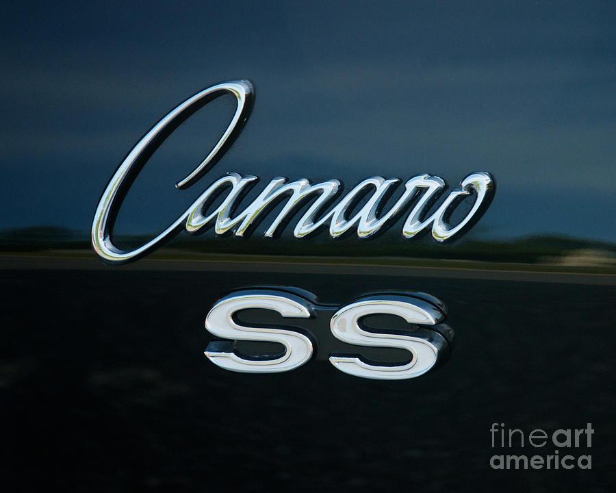 4th Annual Photograph - 1968 Chevy Camaro Ss Logo by Mark Dodd
