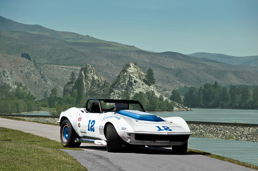 1968 Corvette Trans Am Race Car IIi Photograph by Dave Koontz