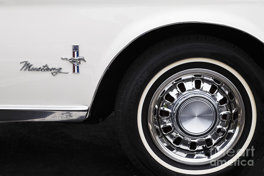 1968 Mustang Photograph
