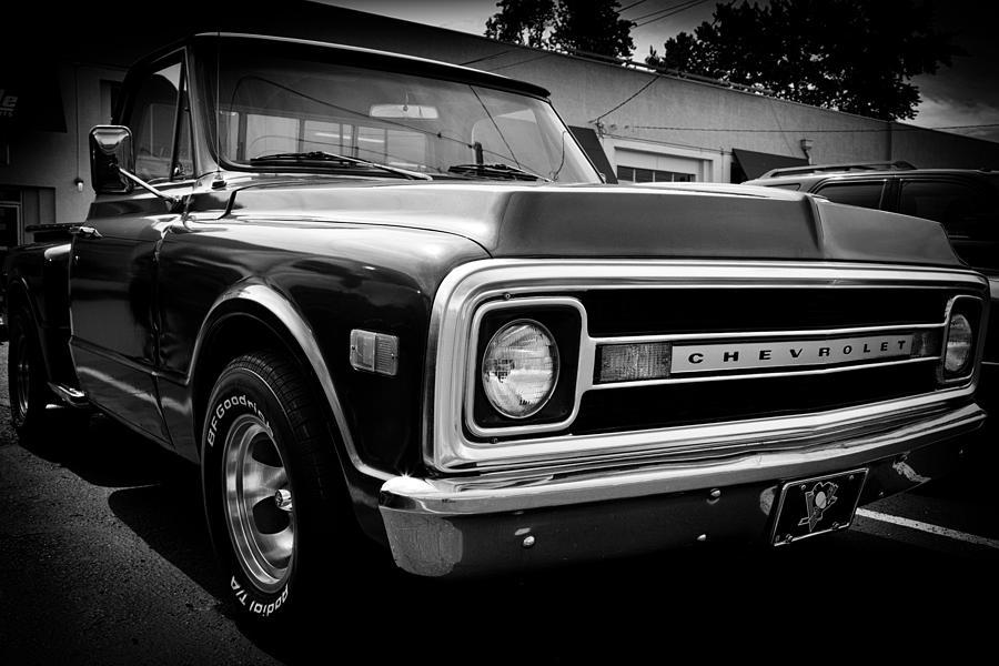69 Photograph - 1969 Chevrolet Pickup by David Patterson