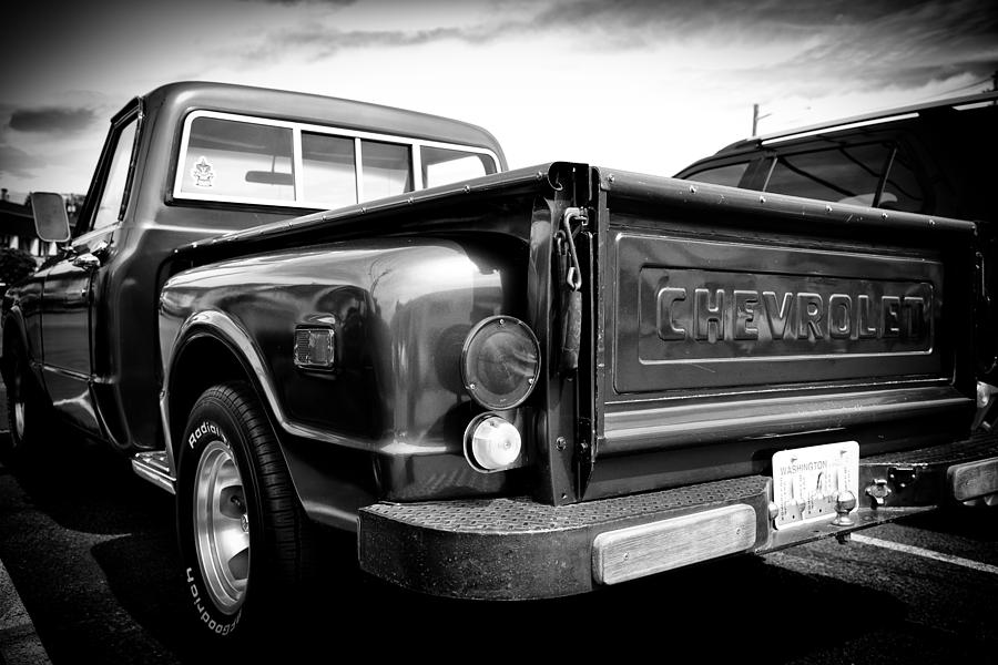 69 Photograph - 1969 Chevrolet Pickup IIi by David Patterson