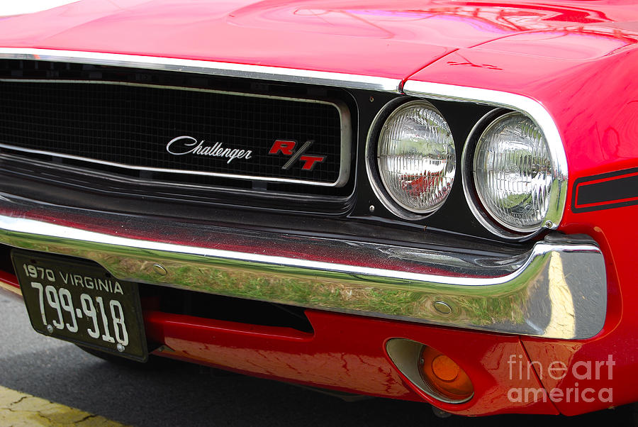 1970 challenger grill photograph by mark spearman 1970 challenger grill by mark spearman