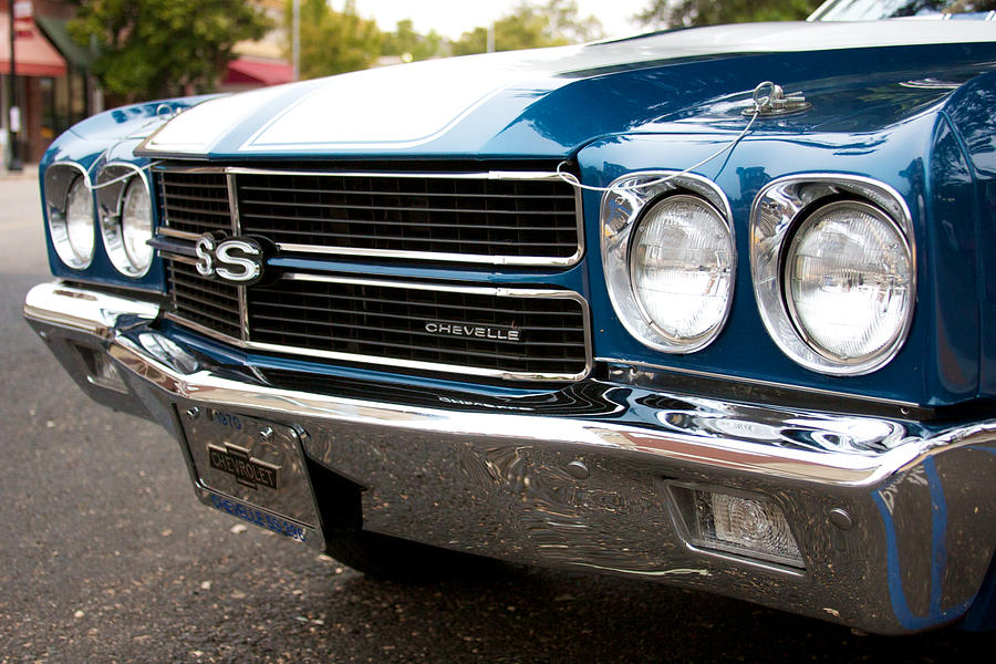 1970 Chevrolet Chevelle Ss Front End by Brooke Roby