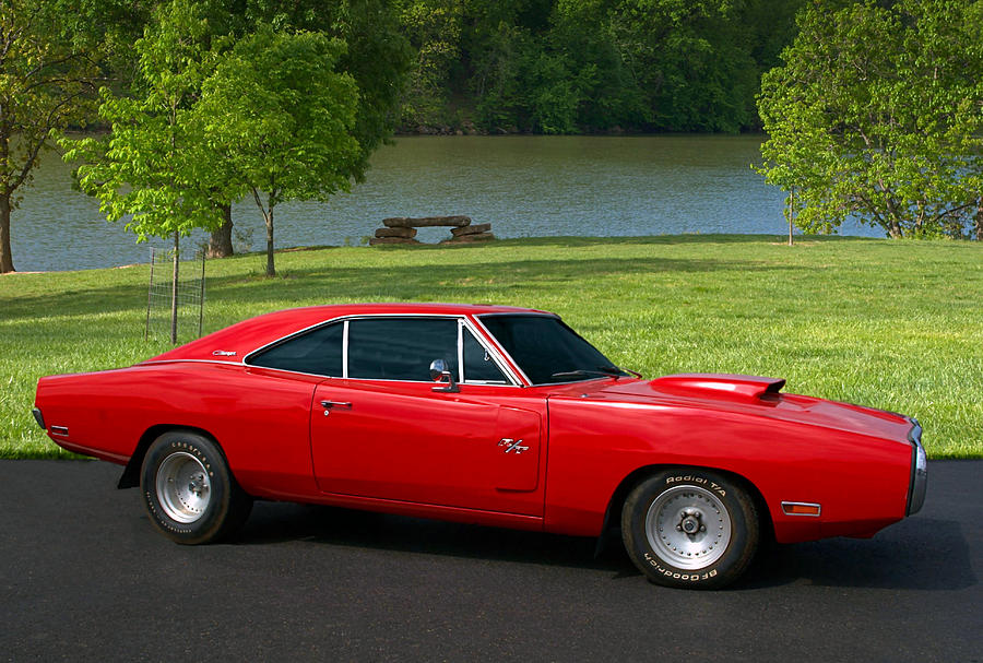 1968 Charger For Sale >> 1970 Dodge Charger Rt Photograph by Tim McCullough