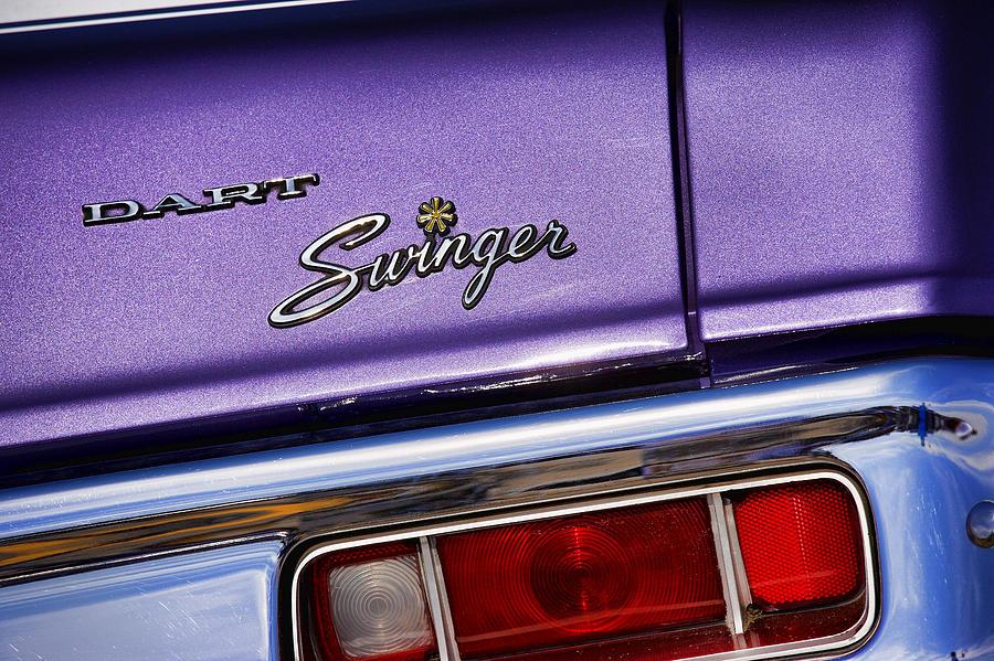 1970 Dodge Dart Swinger In Plum Crazy Purple Photograph by Gordon Dean II