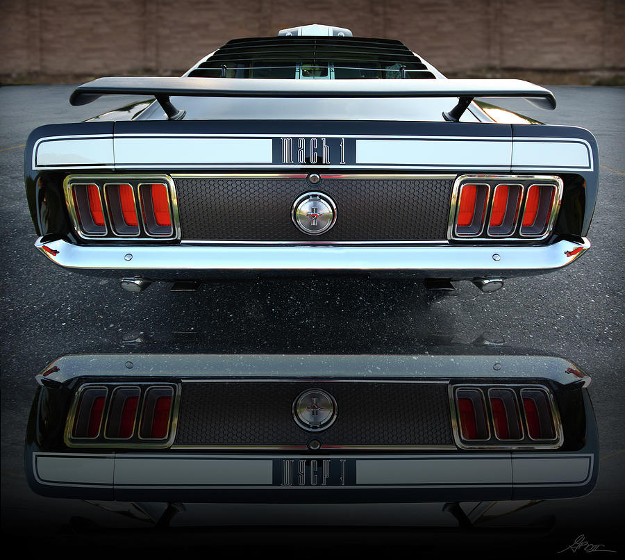 1970 Ford Mustang Mach 1 Photograph By Gordon Dean Ii