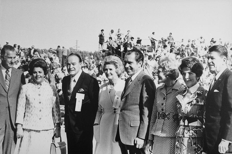 History Photograph - 1971 Nixon Campaign Event by Everett