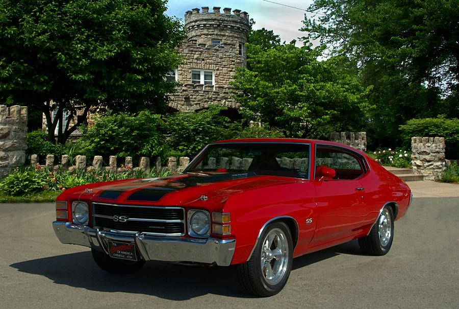 1972 Chevelle Ss 454 Photograph By Tim Mccullough