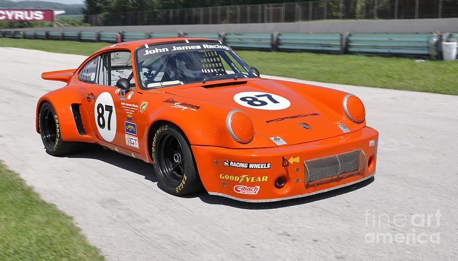 1974 Porsche 911 Rsr Race Car Photograph By Tad Gage