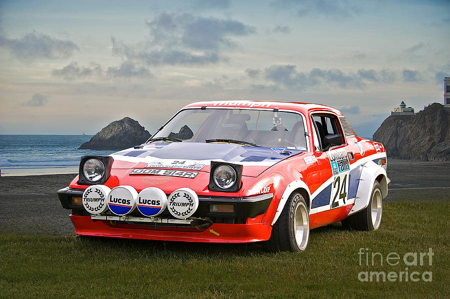 1976 Triumph Tr7 V8 Rally Car Photograph by Dave Koontz