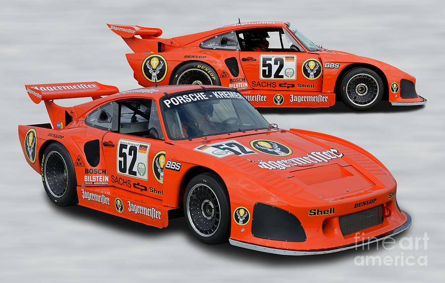 1978 Porsche 935 K3 Jagermeister Slant Nose Race Car