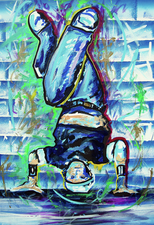 Ottoniel Lima Painting - 1980 Bd by Ottoniel Lima