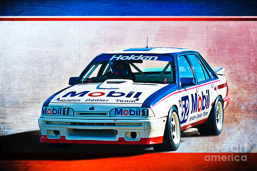 1987 Photograph - 1987 Vl Commodore Group A by Stuart Row