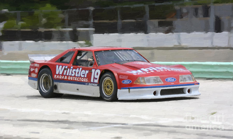 1989 Ford Rousch Mustang Trans-am Race Car Photograph by Tad Gage
