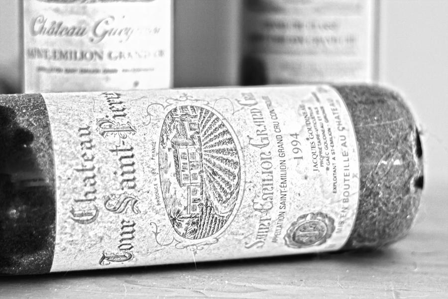Saint Emilion Wine Photograph - 1994 Grand Cru by Georgia Fowler