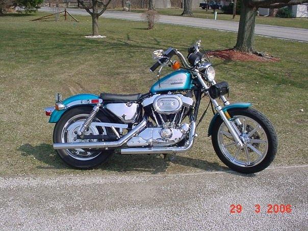 Sportster Harley Davidson Chrome Photograph - 1997 Sportster Chromed by Bruce Kessler